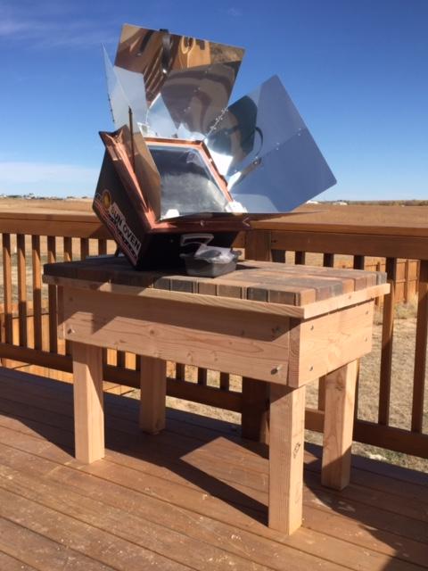 Solar oven 2
